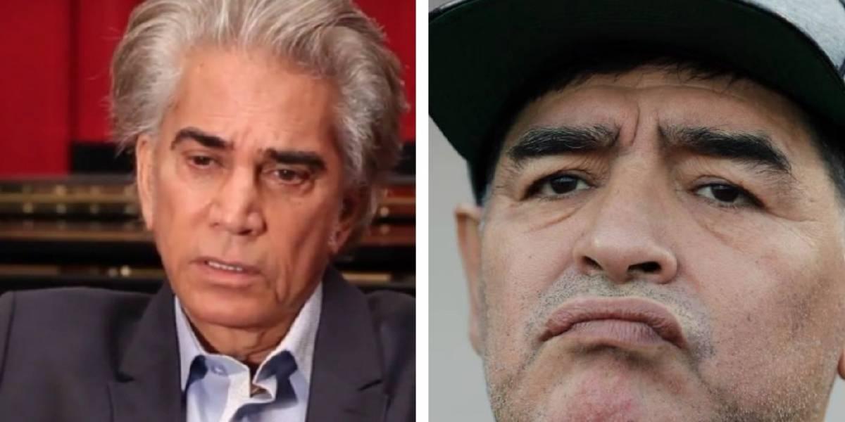 """""""Lo mueve solamente el dinero"""": José Luis """"El Puma"""" Rodríguez arremete contra Maradona"""