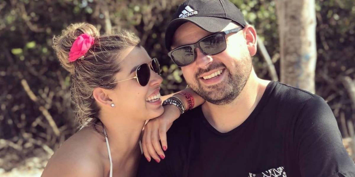 Humoristas Liss Pereira y Ricardo Quevedo serán papás, así lo anunciaron