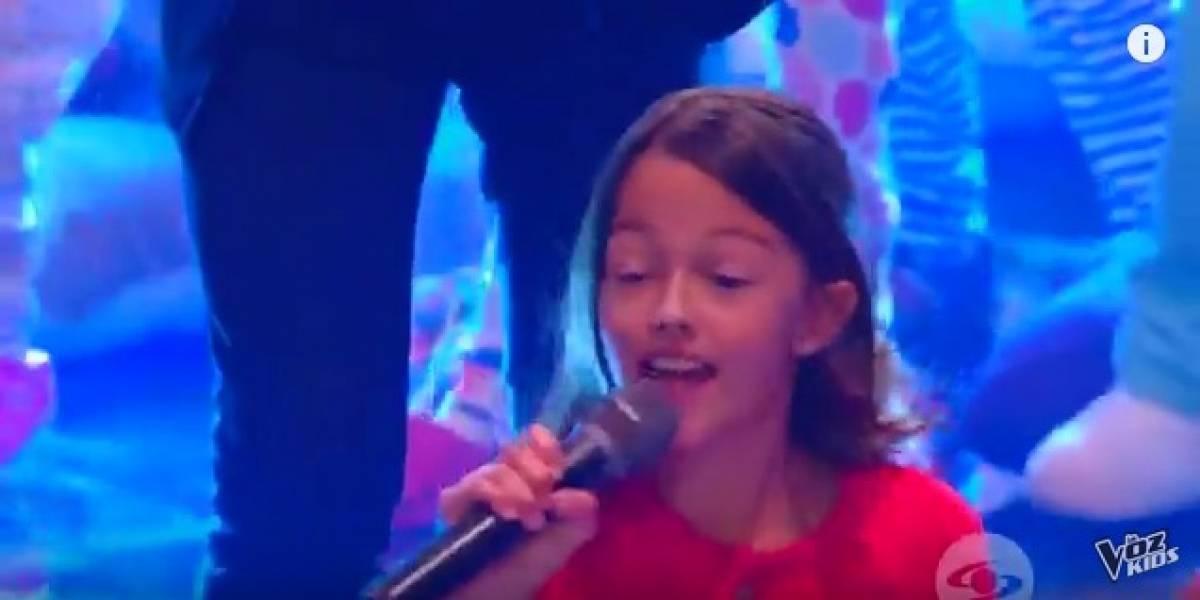 Hija de Carlos Vives la rompió en la final de La Voz Kids