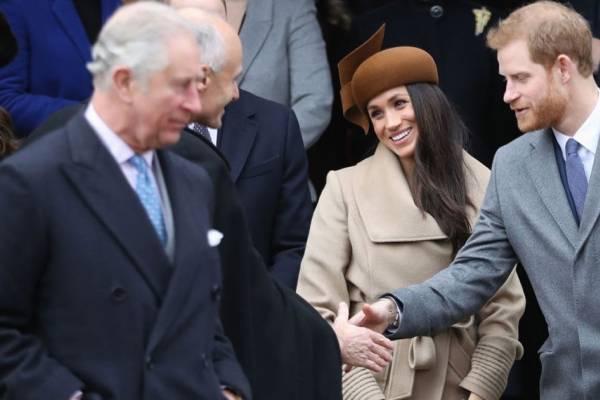 Charles príncipe Meghan Markle