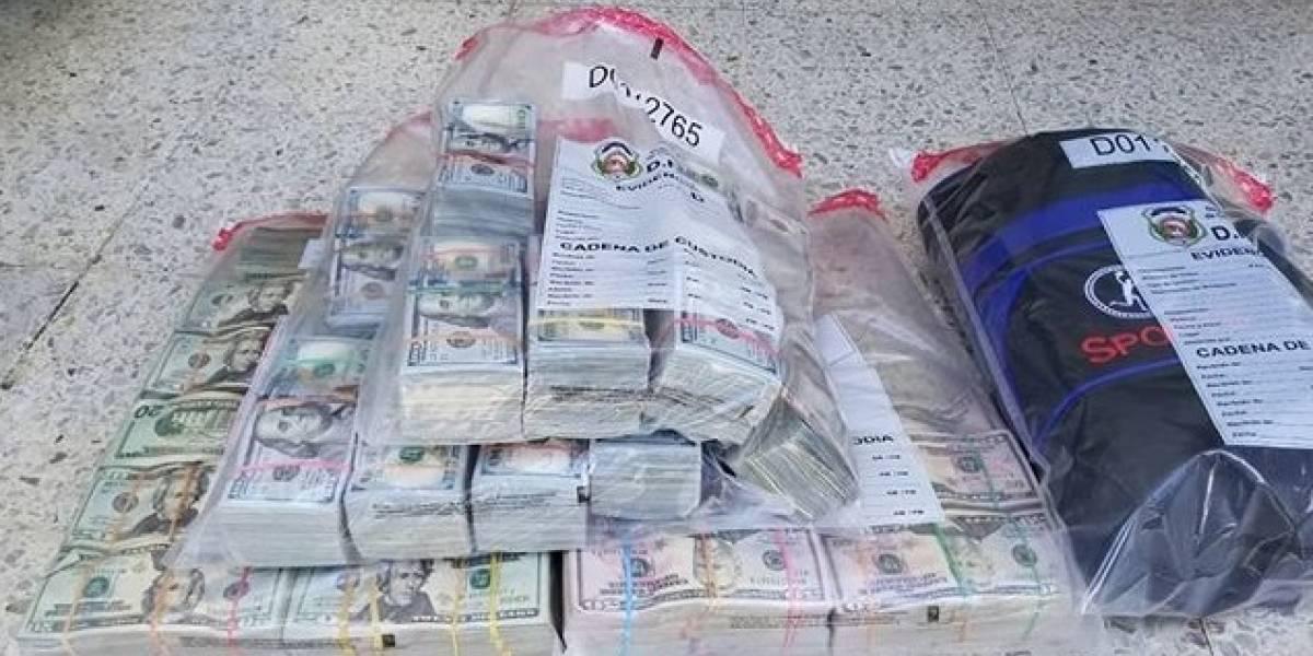 DNCD decomisa casi 1 millón dólares en Santo Domingo y detienen tres extranjeros