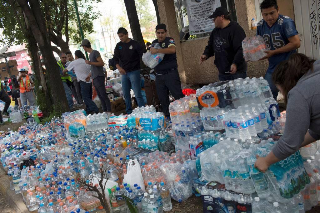 Donaciones de agua
