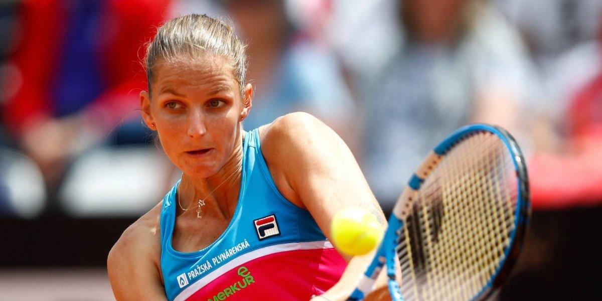 VIDEO: Eliminan a Karolina Pliskova y explota tras perder