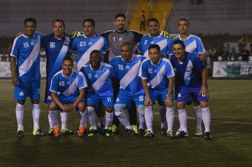 El equipo de Guatemala