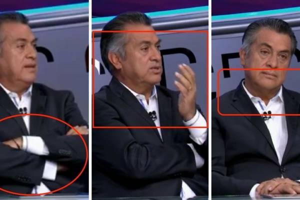 "Jaime Rodríguez Calderón ""El Bronco"", lenguaje corporal"