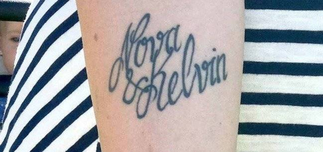 Error en tatuaje