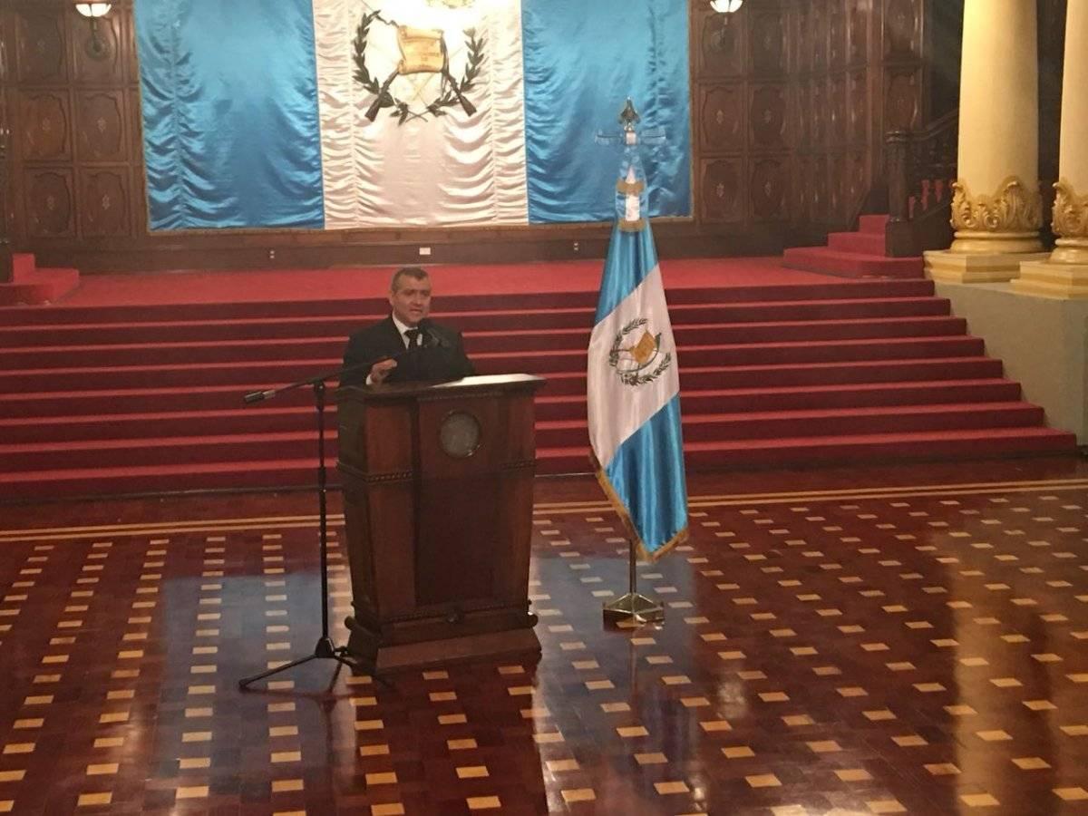Jorge Luis Donado, nuevo titular de la PGN Foto: Jerson Ramos