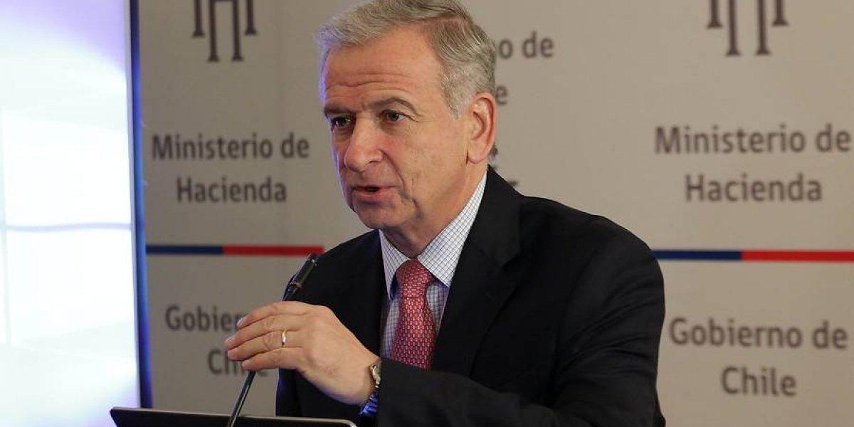 """Ministro de Hacienda cauteloso ante buen crecimiento del primer trimestre: """"Tenemos mucho camino que andar"""""""