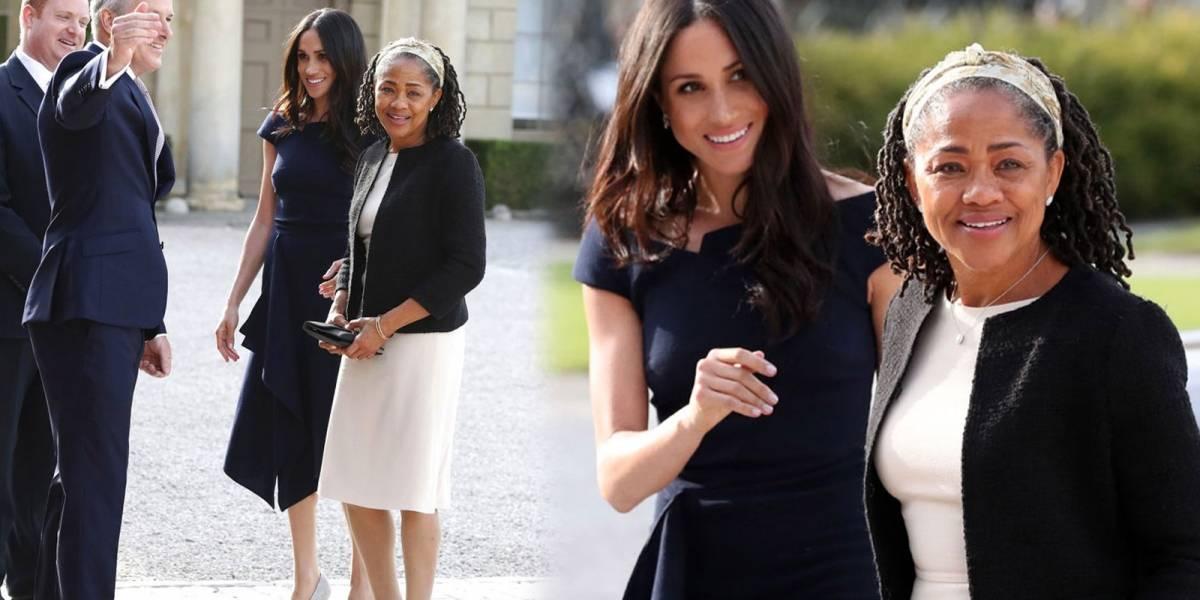 La madre de Meghan Markle llega a Inglaterra para presenciar el nacimiento del bebé real