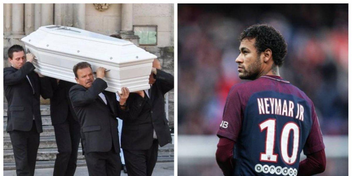 Neymar envía emotiva carta a niña que murió a manos de un violador
