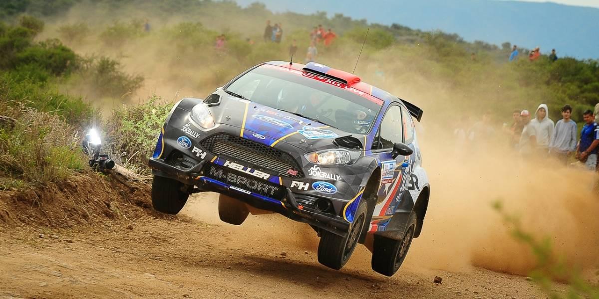 Pedro Heller busca su tercer podio seguido en el WRC