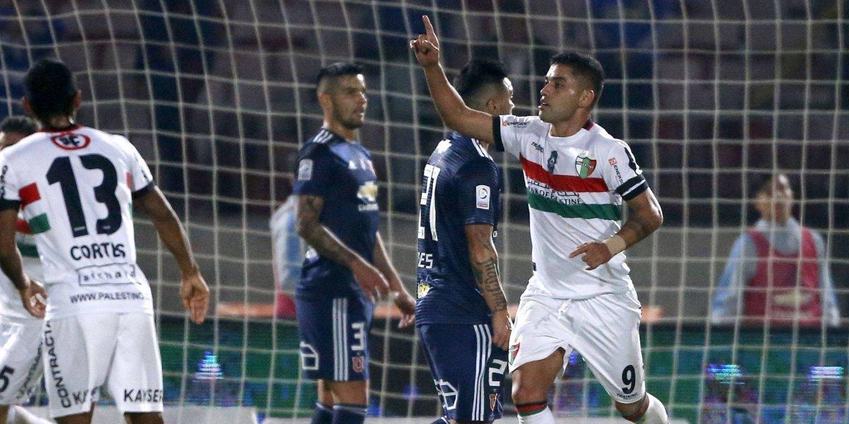"""Jugadores de Palestino le dedicaron la victoria a Cavalieri: """"Este triunfo es para el profe"""""""