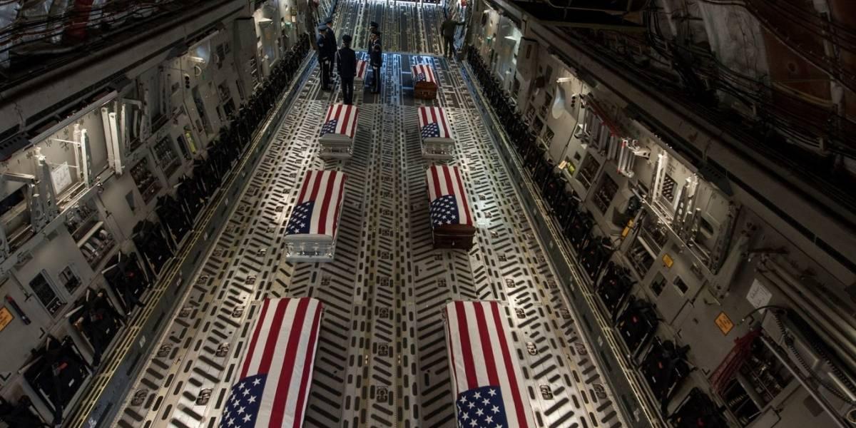En Puerto Rico los restos de los soldados boricuas que murieron en Georgia