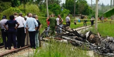 Imágenes accidente aéreo en Cuba