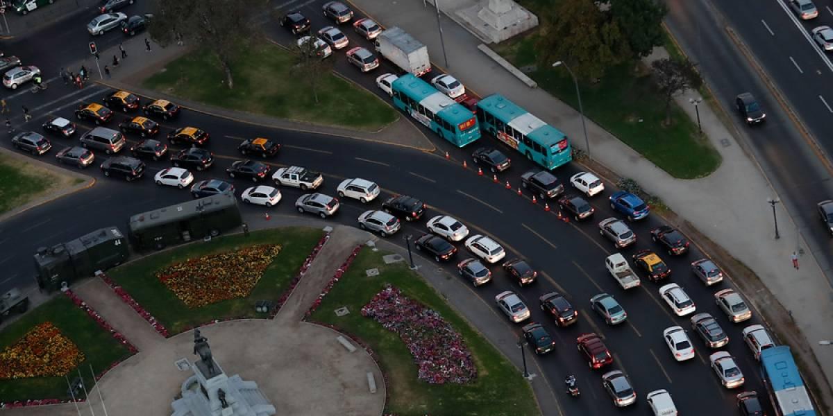 Con los tacos no se notaron: en Chile circularon más de 5,1 millones de vehículos durante 2017