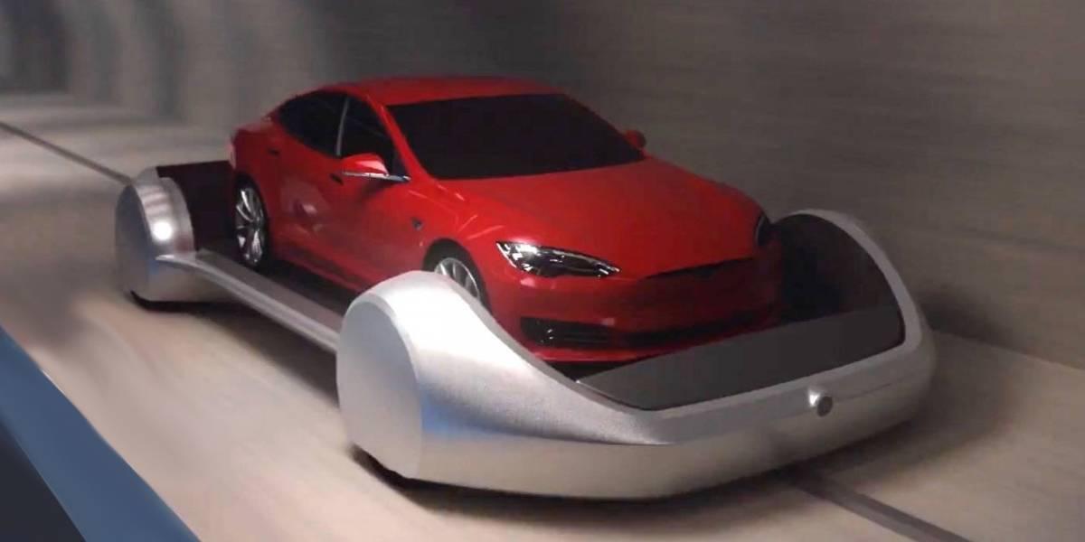 Elon Musk dice que los viajes en túnel de The Boring Company costarán un dólar