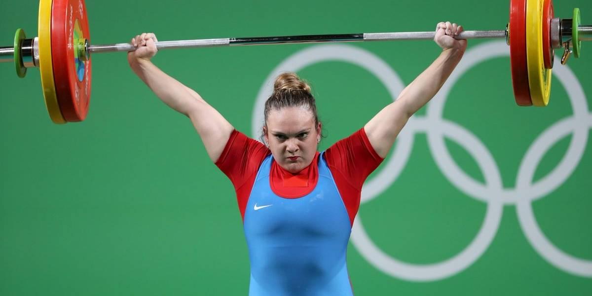 María Fernanda Valdés se une a Arley Méndez y también es campeona panamericana de pesas