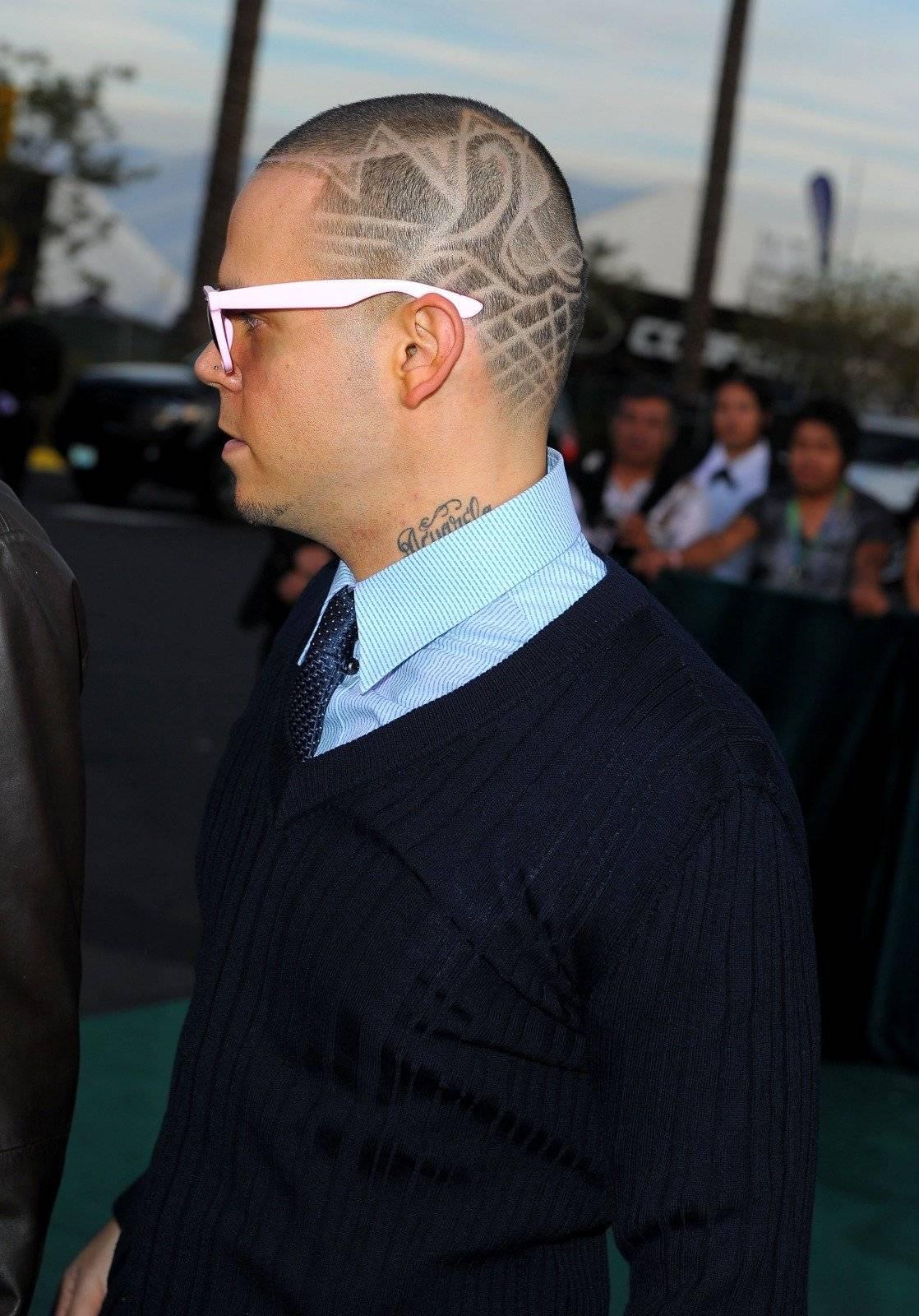 Residente hizo famosos los diseños con líneas en los recortes de cabello. Foto: Getty