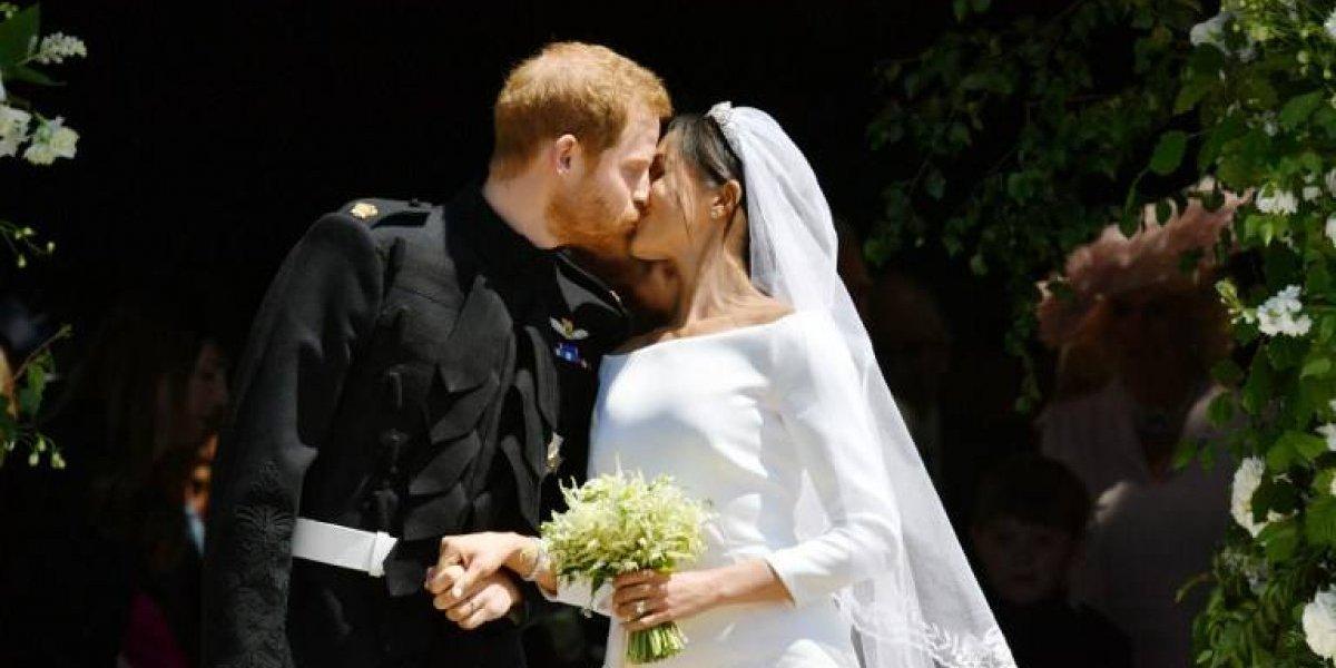 Miradas de complicidad y enamorados: Así fue la emotiva boda de Harry y Meghan