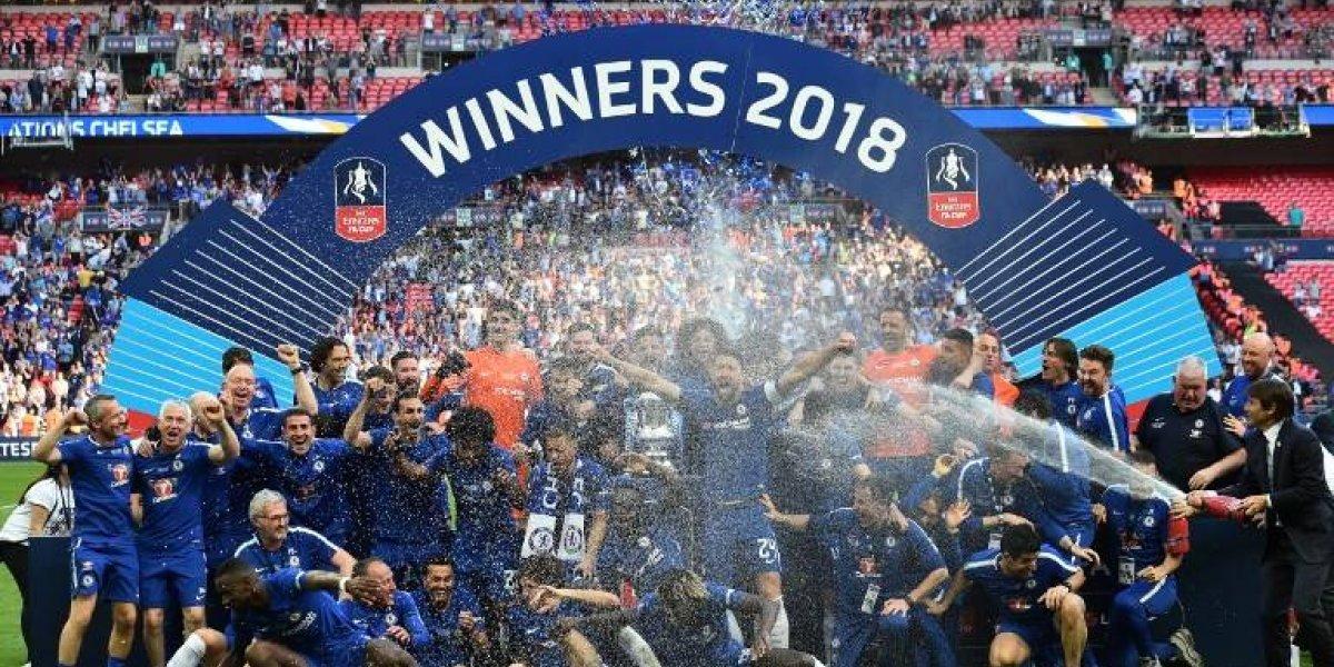 Chelsea se queda con la FA Cup tras vencer al ManU