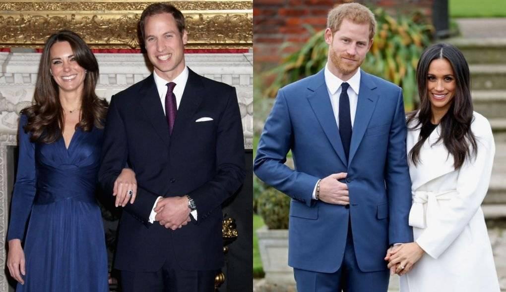 noivado William vs noivado Harry