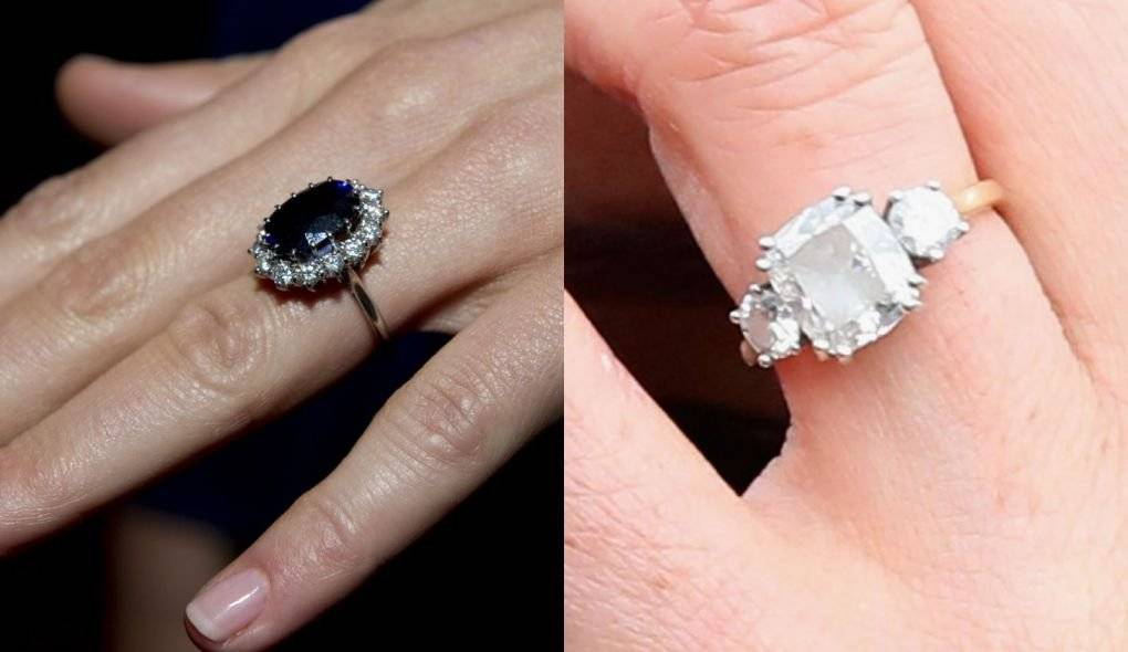anel casamento Kate Meghan
