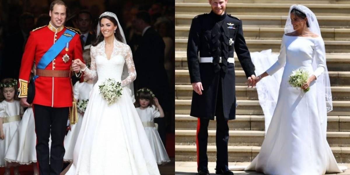 Meghan e Harry, William e Kate: do noivado ao cortejo, comparamos os casamentos