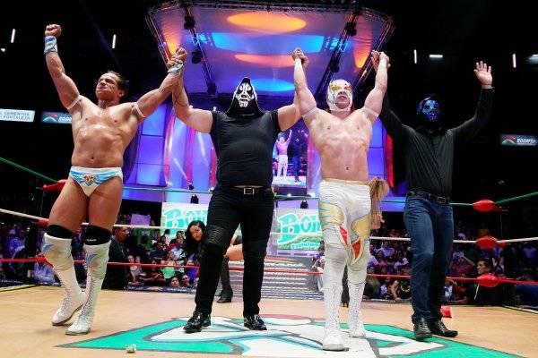Regresó para defender a su sobrino Volador Jr. / CMLL