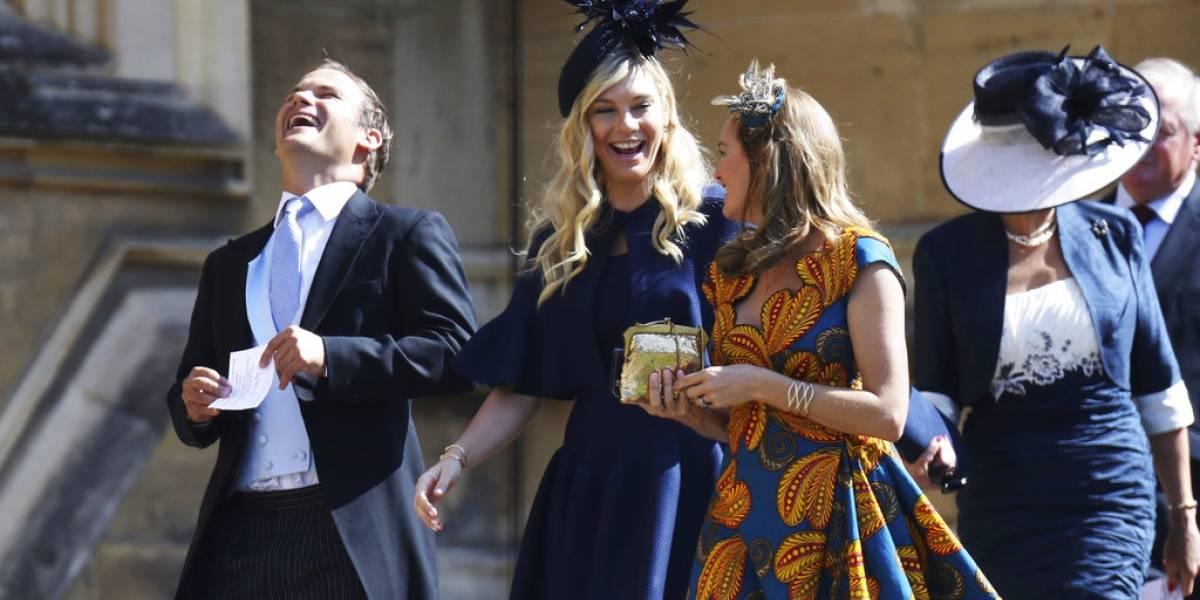Las exparejas del príncipe Harry llegaron a la boda real