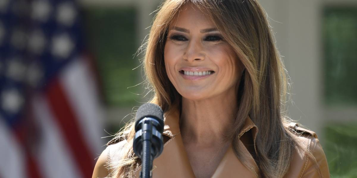 Melania Trump regresa a la Casa Blanca tras casi cinco días hospitalizada