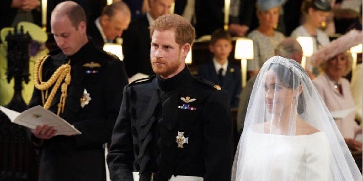 FOTO. ¿Por qué el príncipe Harry dejó un asiento vacío en su boda?