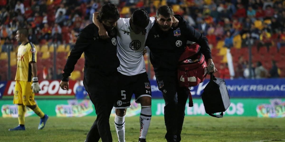 Semestre para el olvido: Julio Barroso volvió a lesionarse en Colo Colo