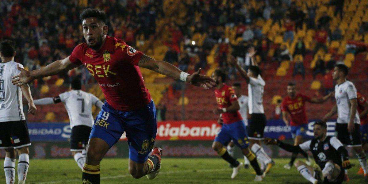 Unión Española le dio un golpe tremendo a un dormido Colo Colo y lo aleja del título