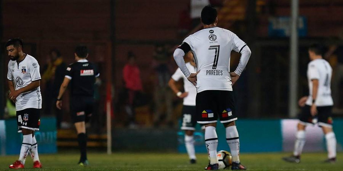 """Esteban Paredes se fue enojadísimo en Colo Colo: """"Bajamos el ritmo y acá no sobra nada"""""""