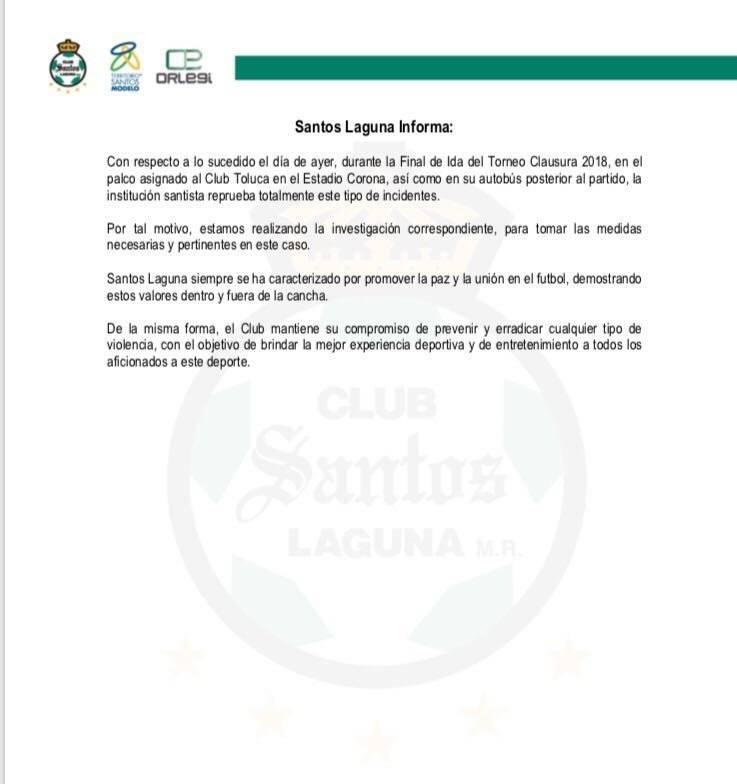 Comunicado de Santos
