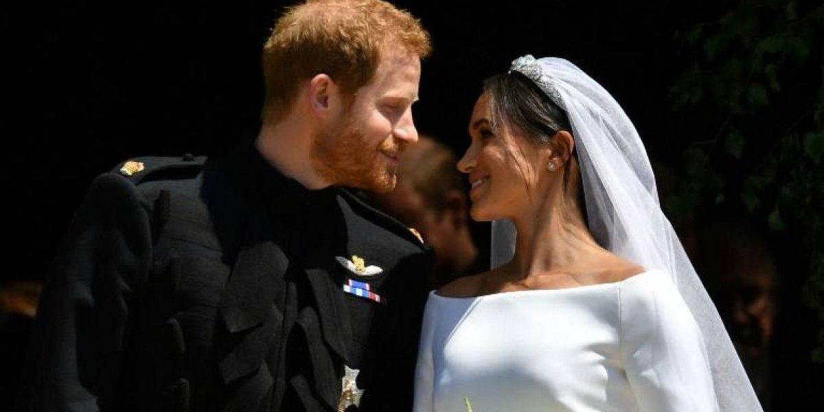 VIDEO. Meghan lució hermosa con su segundo vestido de novia