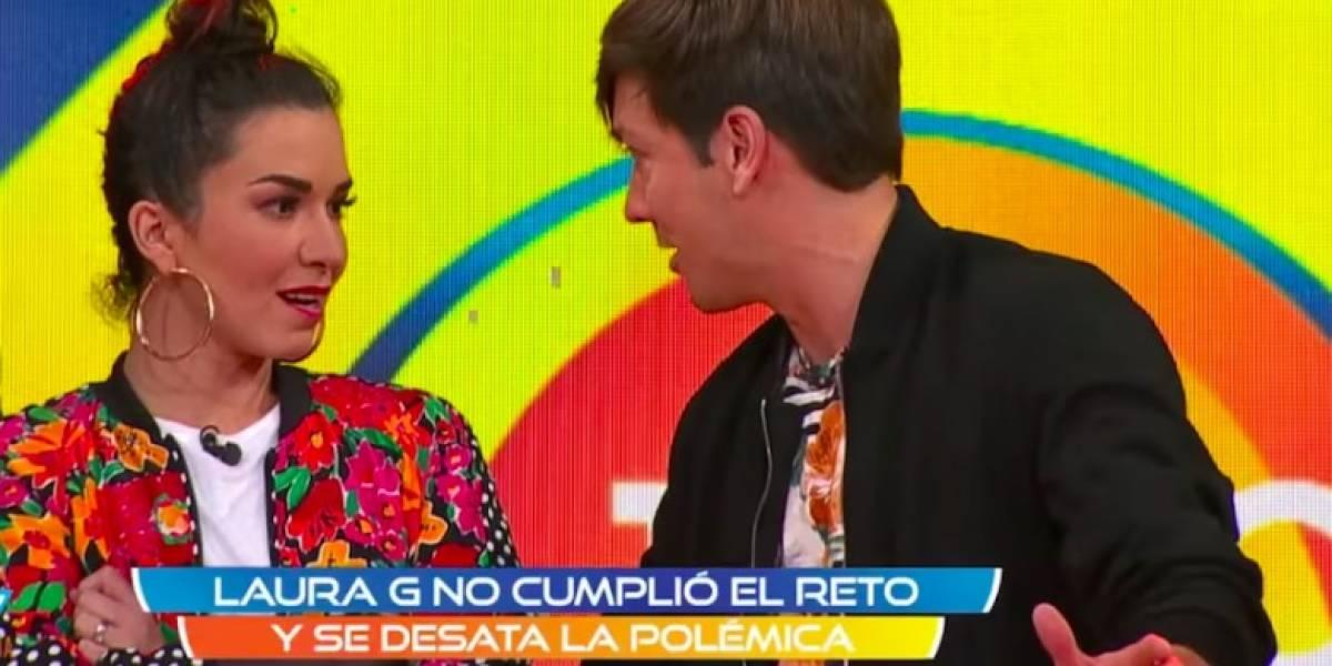 ¡Laura G y Roger González pelean durante programa en vivo!