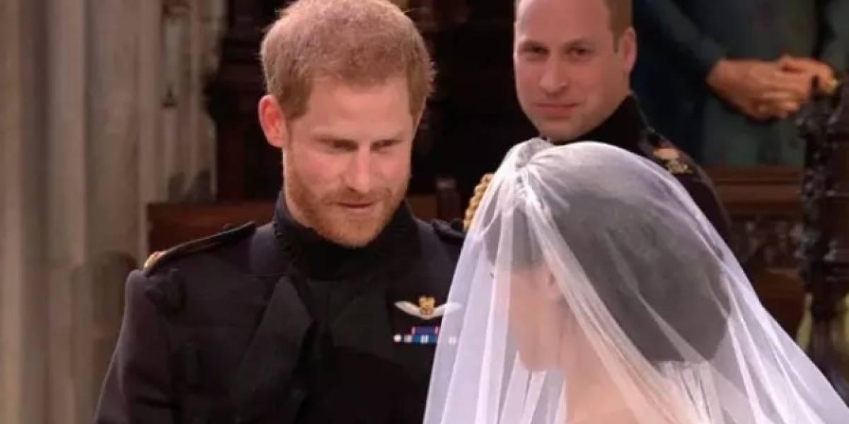 """""""Te ves increíble"""": la frase que el Príncipe Harry le dijo a Meghan Markle en el altar y que derritió el corazón de todos en las redes sociales"""