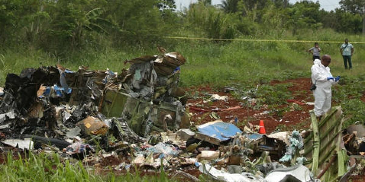 Revelan la causa del desplome de avión de Cubana de Aviación