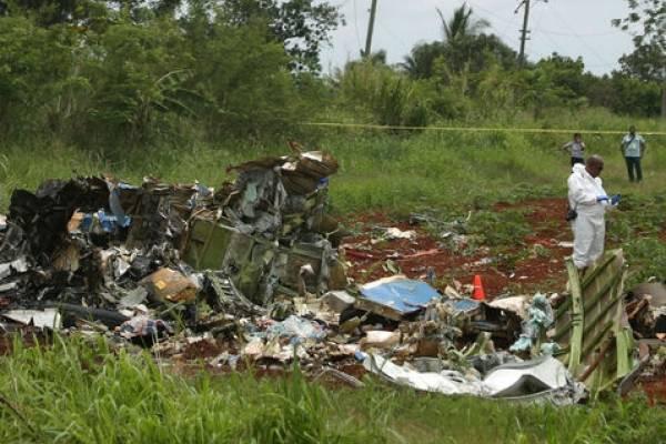 Concluyen el accidente aéreo en Cuba como fallo humano de pilotos
