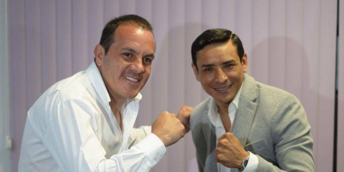 Ex boxeador se une a la campaña de Cuauhtémoc Blanco
