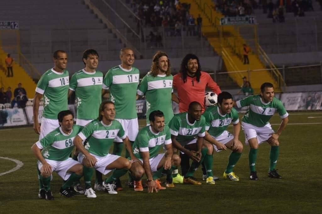 El equipo de las leyendas extranjeras