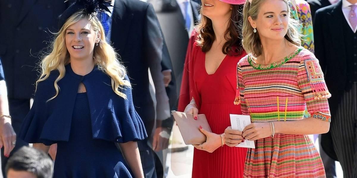 Dos ex novias de Harry llegaron a su Boda Real con Meghan Markle