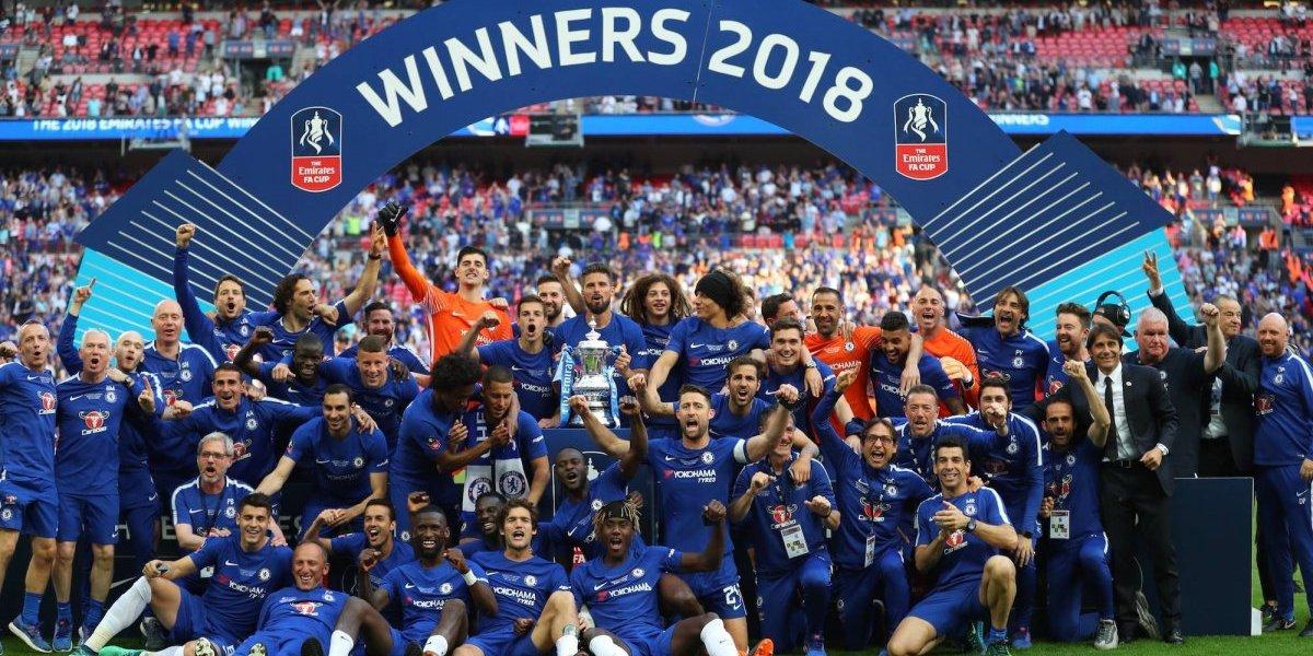 Eden Hazard le da el título de la FA Cup al Chelsea
