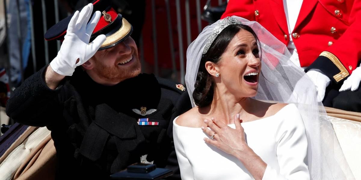 Casados! Meghan Markle e príncipe Harry saem para cortejo por Windsor; veja fotos