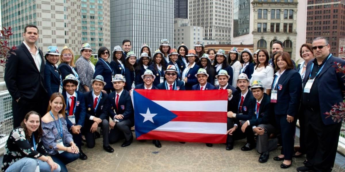 Premian a jóvenes puertorriqueños en Feria Internacional de Ciencias e Ingeniería