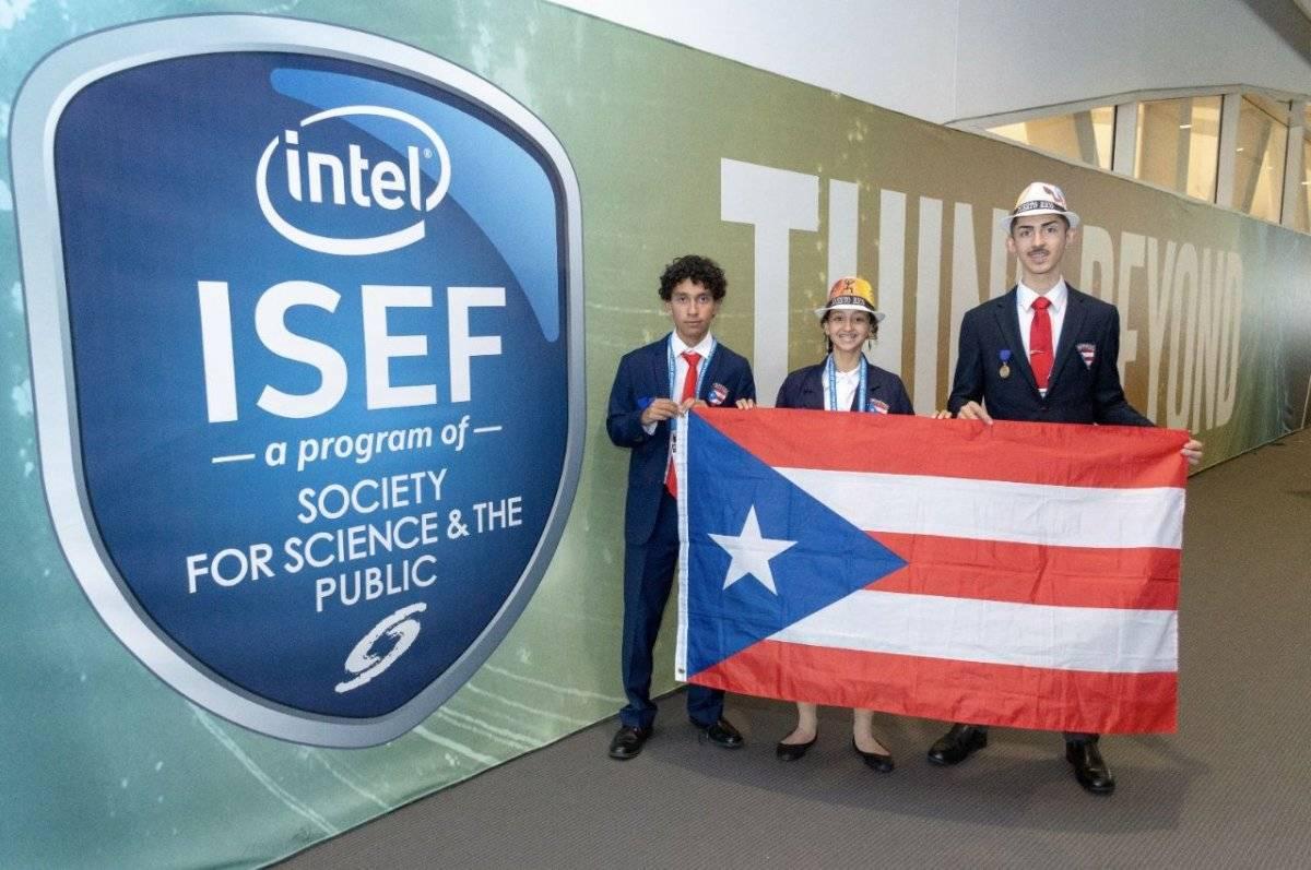 Feria Internacional de Ciencias e Ingeniería - boricuas