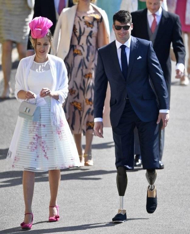 Invitados boda real Fotos: AFP