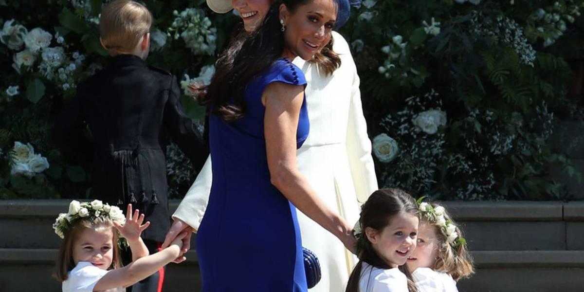 El increíble look de la mejor amiga de Meghan, la estilista Jessica Mulroney en la boda Real
