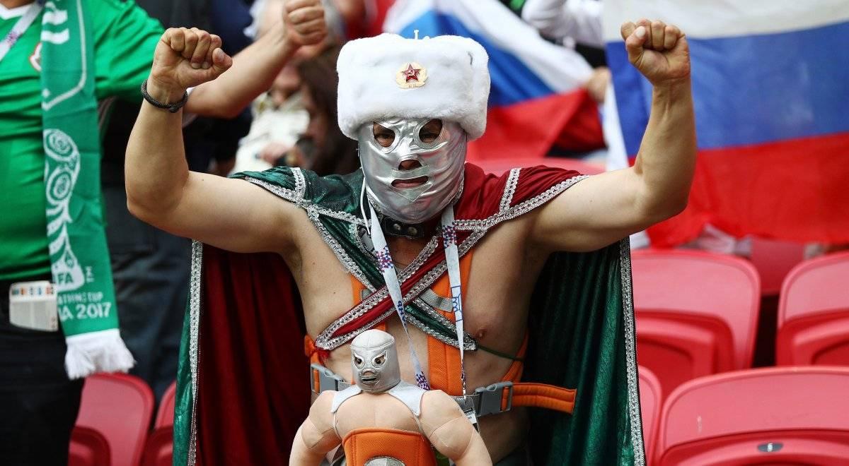Los luchadores no podrán formar parte de los estadios mundialistas |GETTY IMAGES